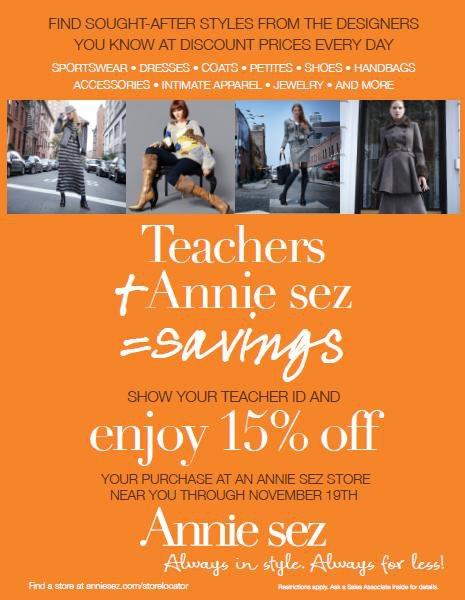 58fe52571e48 Annie sez | i love labels. i crave savings. i shop Annie Sez.
